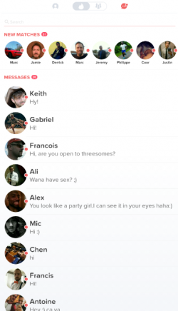 How To Message A Girl's Tinder Blank Profile - Dude Hack