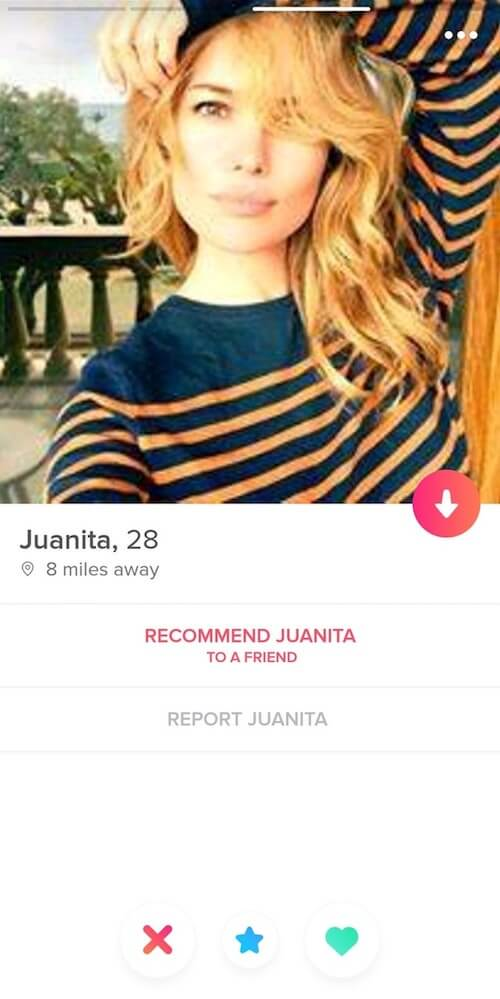 Tinder Fake Profile