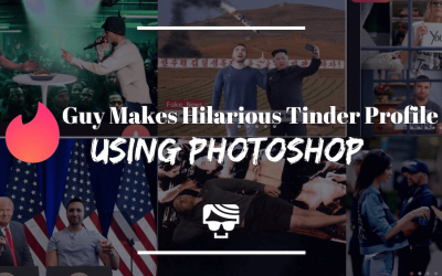 This Genius Photoshopped All His Tinder Photos For A Hilarious Profile