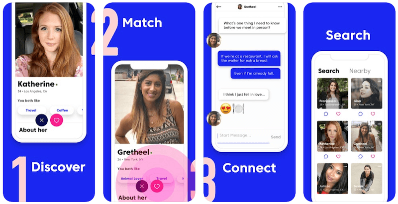 Best Dating Apps For Relationships - Match app screenshots