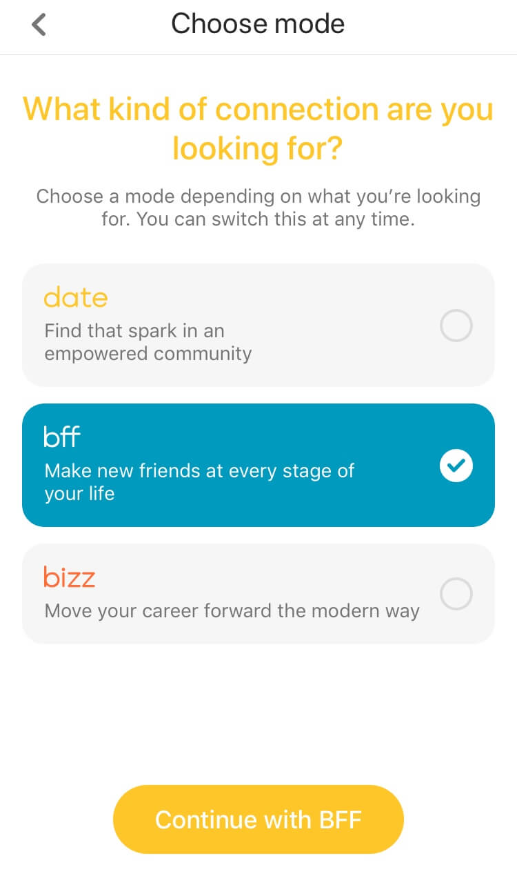 How Does Bumble Bff Work_