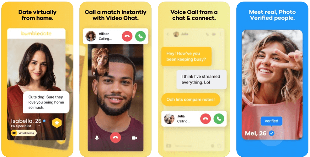 How Does Bumble Work Screens