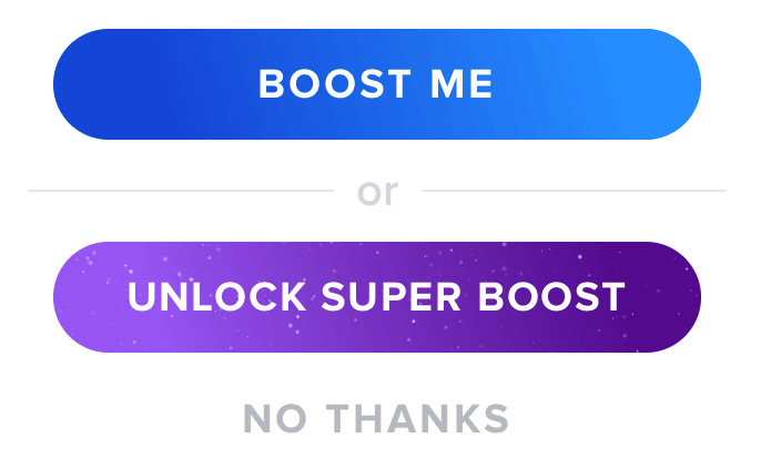 Tinder Boost Unlock Super Boost