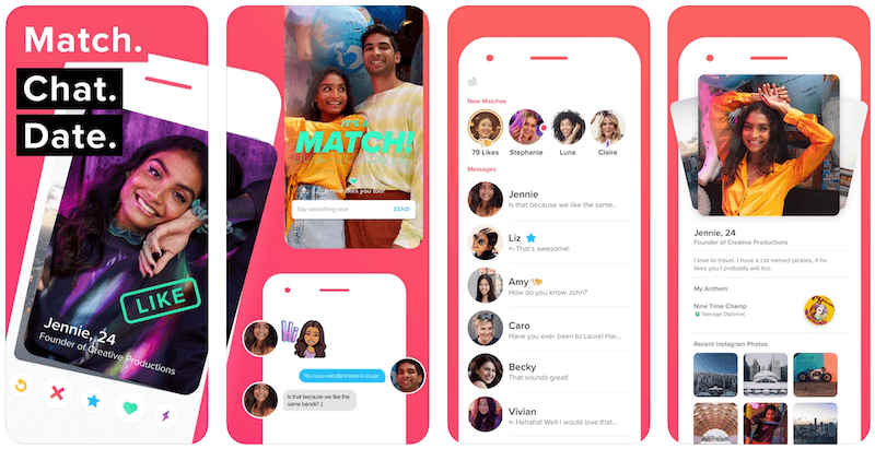 Tinder Plus - Tinder Screen