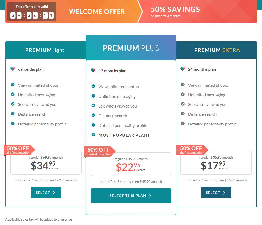 eHarmony price Sign Up Discount