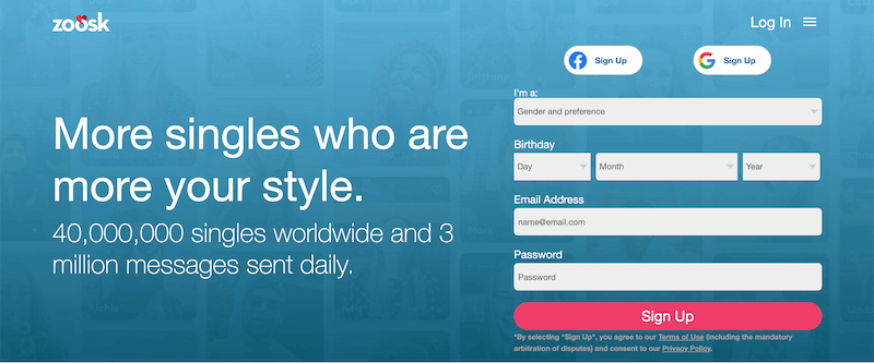 How Does Zoosk Work? Main Sign In