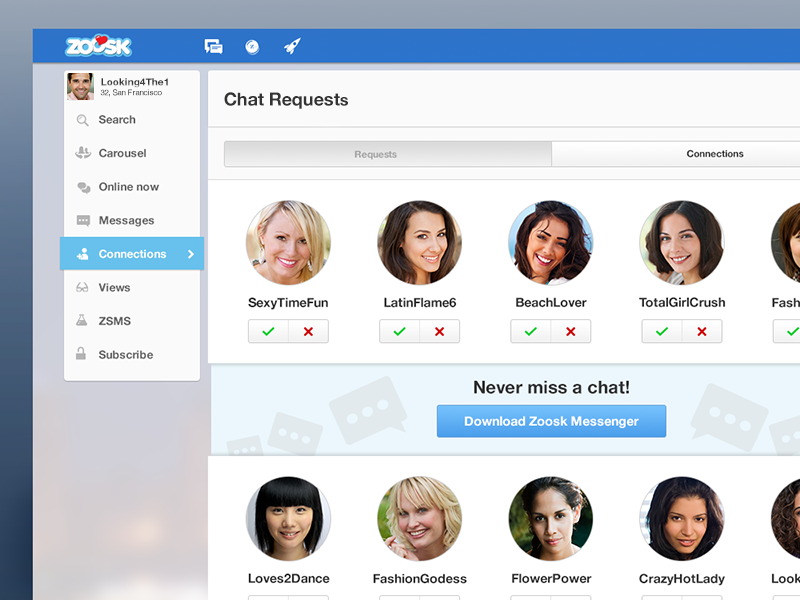 How Does Zoosk Work? Zoosk Connections