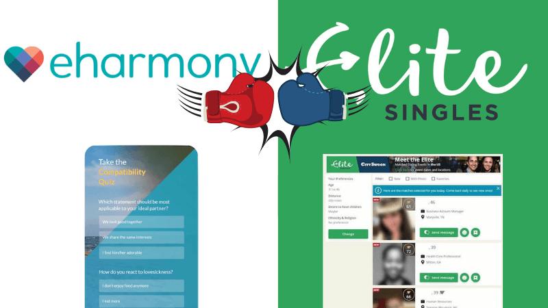 eharmony vs. EliteSingles Free Features