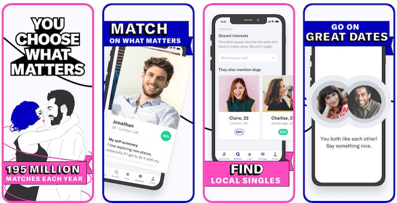 Tinder vs. Okcupid - okcupid app