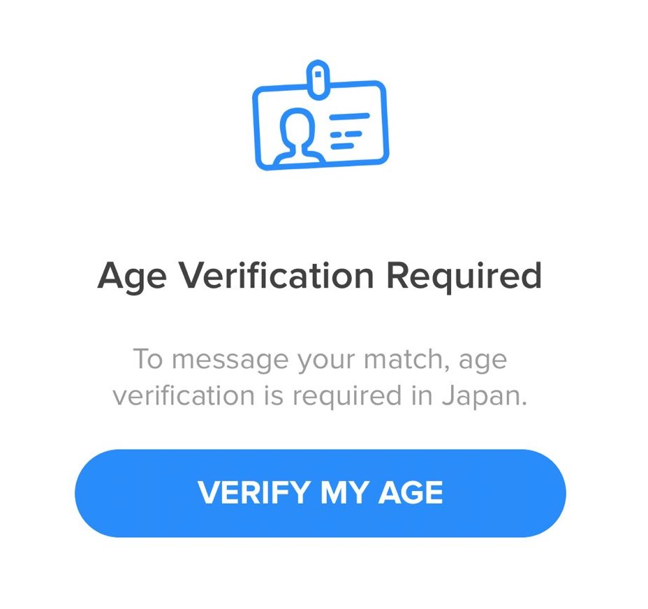 What Is Tinder Age Verify?