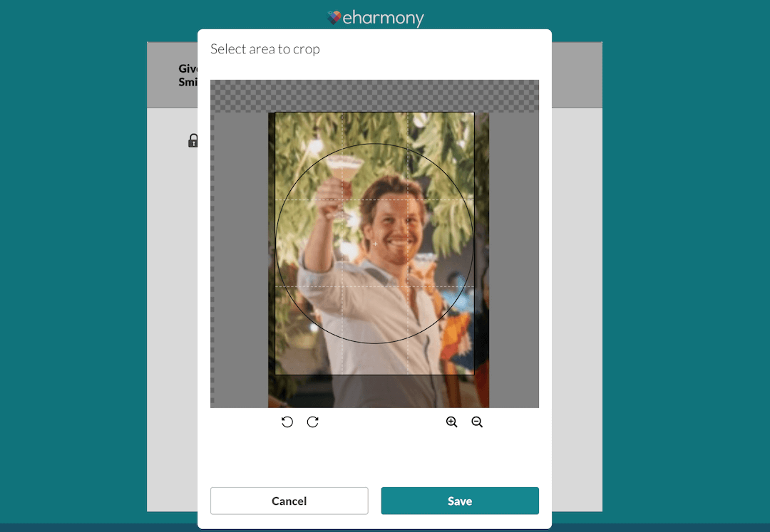 eharmony Review - Profile Photo Upload
