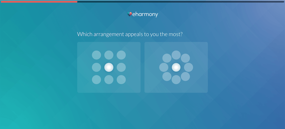 eharmony Review - Quiz (Which Shape Is More Appealing?)