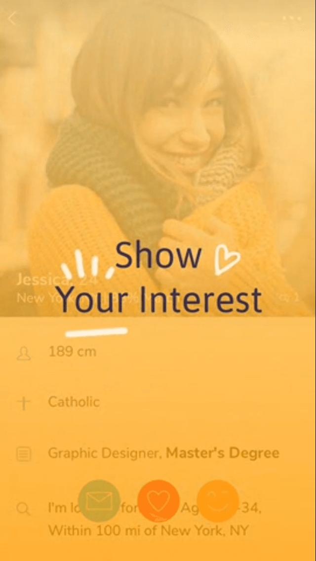 christian mingle interest matches smiling woman