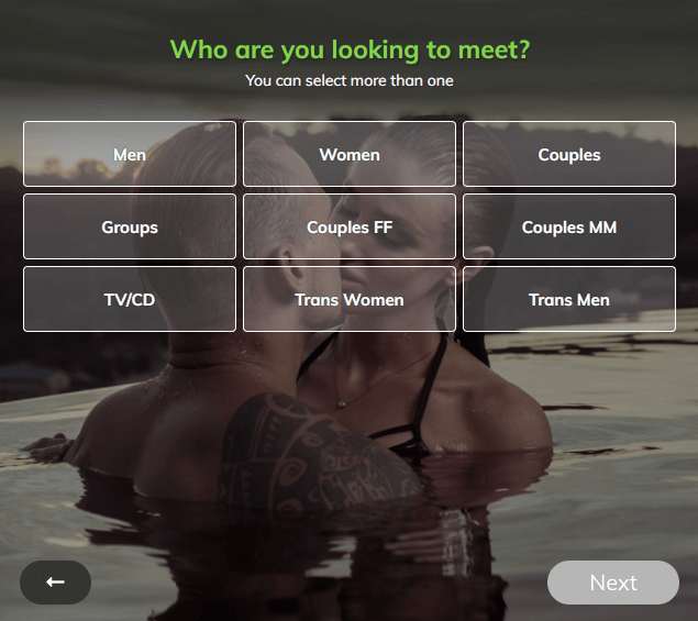 what is redhotpie profile matching options sexual orientation