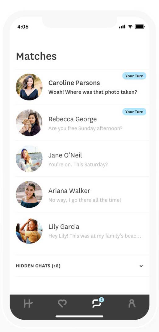 Can Someone See If I Read Their Message on Hinge - Your Turn