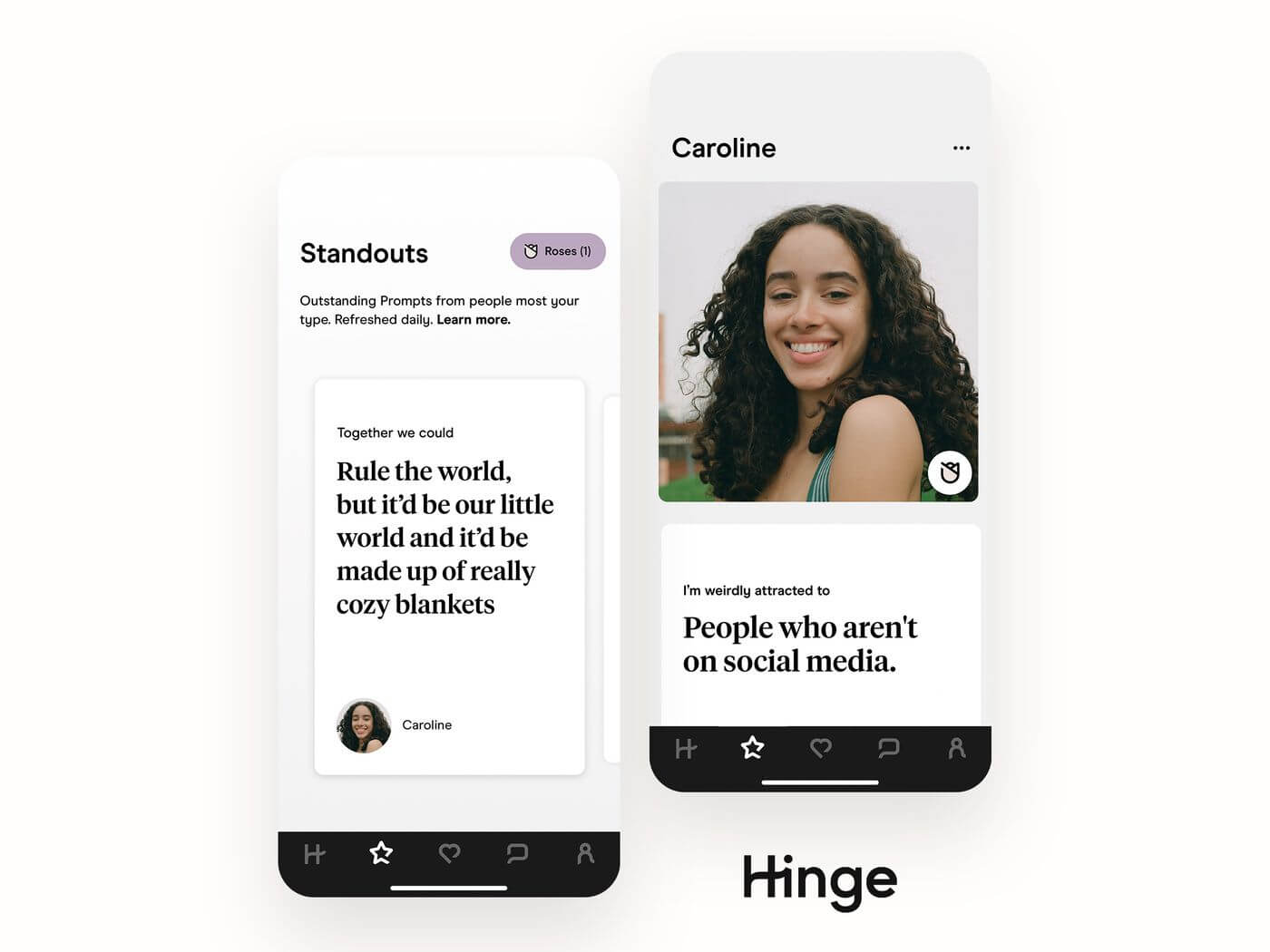 What is the Rose on Hinge - Standouts and Roses