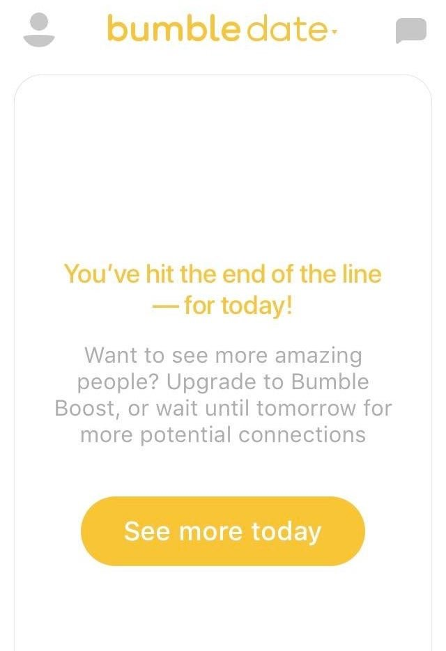 Can You Run Out Of Swipes On Bumble?