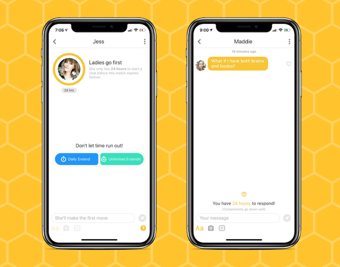 Who Can Send Messages On Bumble?