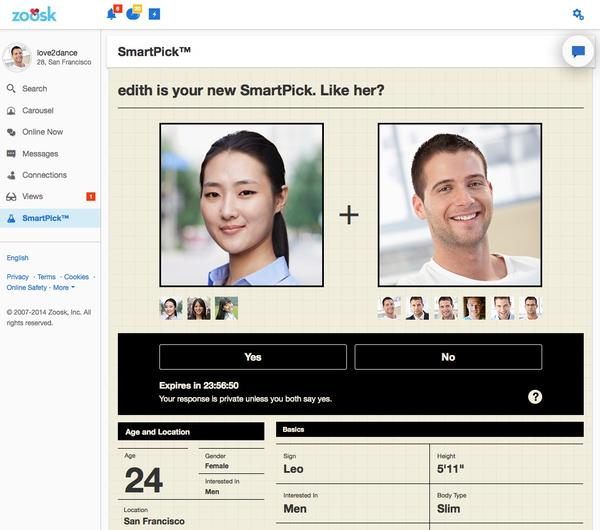 Is Zoosk Worth Paying For - SmartPick