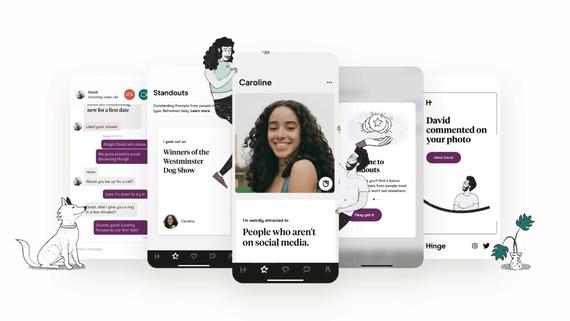 Best Dating Apps Like Tinder - Hinge