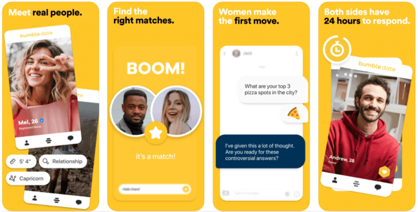 Best Dating Apps for Introverts - Bumble