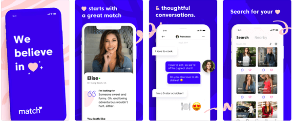 Best Dating Apps for Over 40 - Match