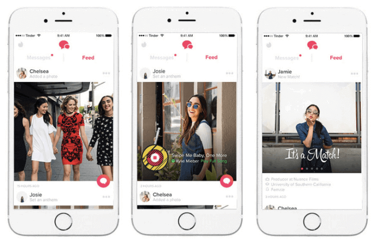 Did Tinder Remove Feed in 2020 - Tinder Feed Interface