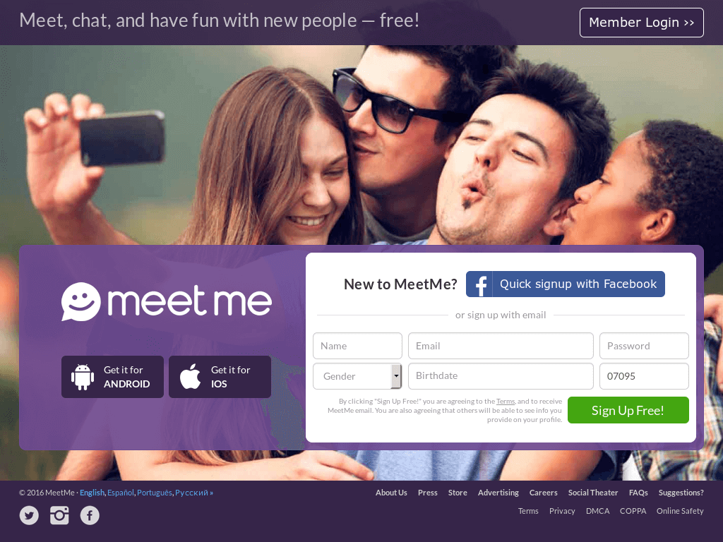 How Does Meet Me Work - Sign up for meetme