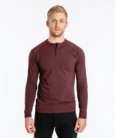 Is A Hike A Good First Date - Public Rec Go To Long Sleeve Henley