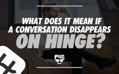 What Does It Mean If A Conversation Disappears On Hinge?