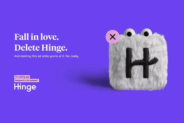 What Does It Mean If A Conversation Disappears on Hinge - Hinge Logo