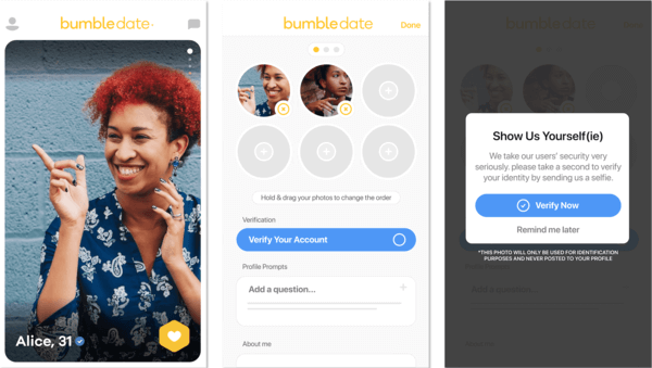 What Does The Heart And Check Mark Mean On Bumble - Selfie Verification