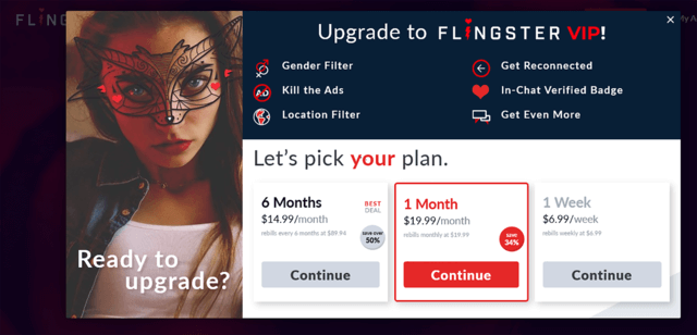 What is Flingster - Upgrade Features
