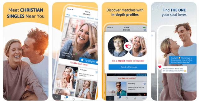 Best Dating Apps USA - Christian Mingle app