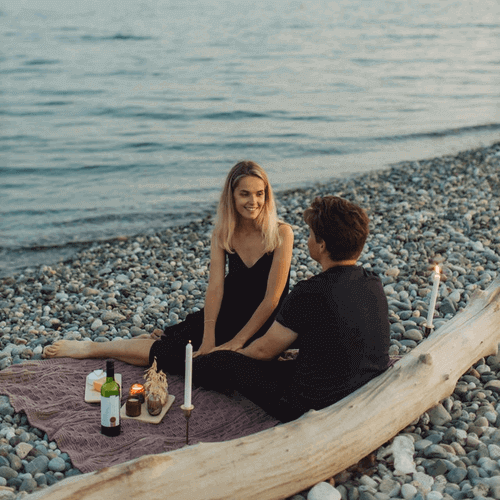 Is A Picnic A Good First Date - Beach Picnic