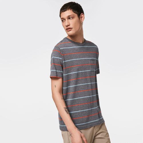 Is The Beach A Good First Date - Oakley Stripe Shirt