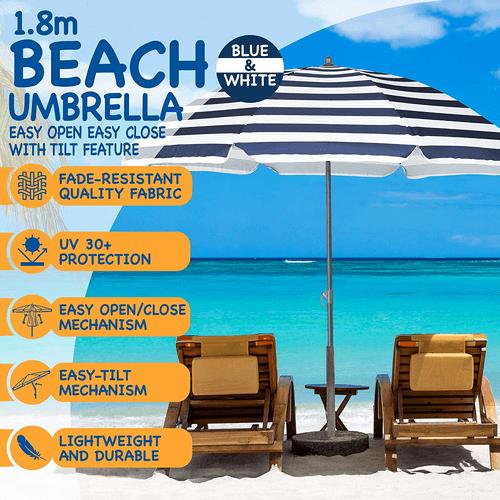 Is The Beach A Good First Date - SunMer Beach Umbrella