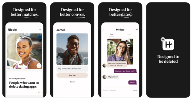 Does Hinge Show You The Same Person Twice - Hinge app