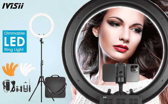 Is A Video Call A Good First Date - professional ring light