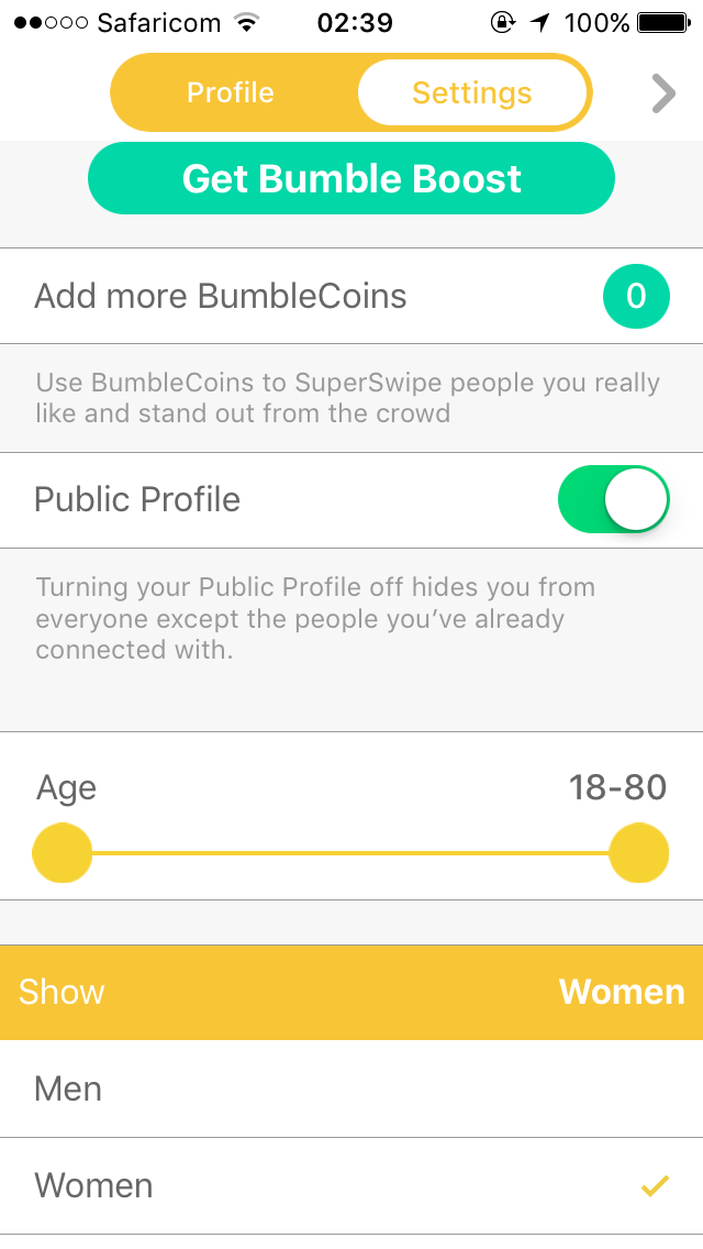 What Is The Minimum Age for Bumble - Bumble age range