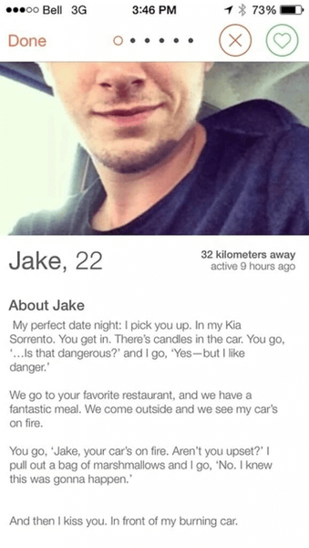 Is Everyone On Tinder Just Looking For A Hookup - Tinder Bio