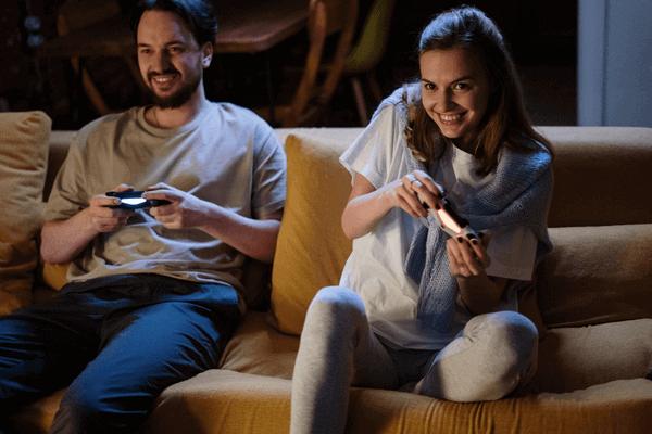 Budget Date Night Ideas - Gamer Couple